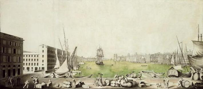 The Port of Marseille, 1811