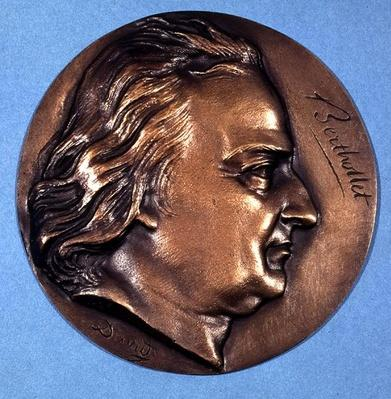 Medallion depicting Count Claude Louis Berthollet