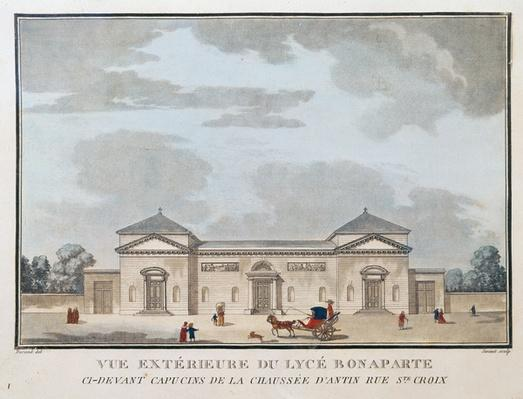 Exterior view of the Lycee Bonaparte