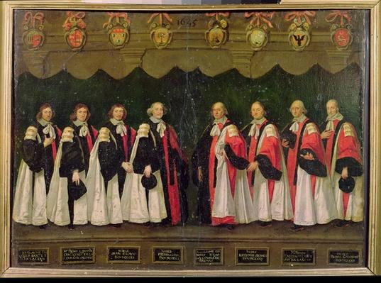 The Aldermen of 1644-45