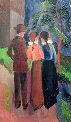 The Walk, 1914