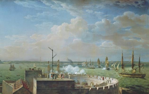 Cherbourg Harbour, 1822