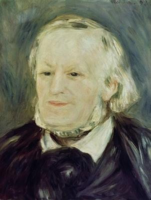 Portrait of Richard Wagner by Renoir, Pierre Auguste (1841-1919)