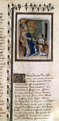 Ms 814 f.125r Bertrand du Guesclin