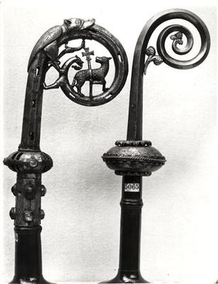 Crozier of the Abbots of Clairvaux depicting the Lamb of God