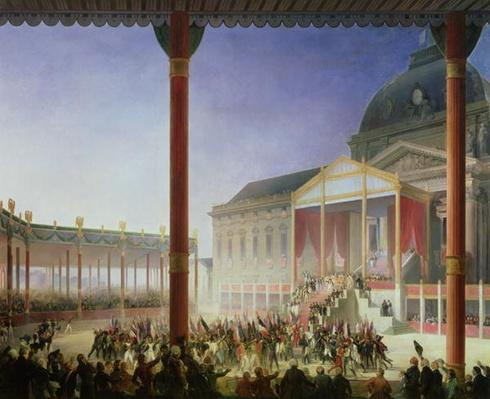 Assembly of the Champ de Mai, 1st June 1815