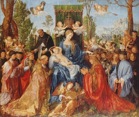The Feast of the Rose Garlands, 1506