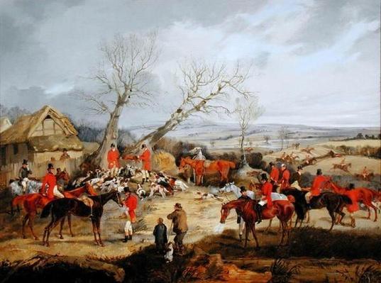 Hunting Scene, The Kill