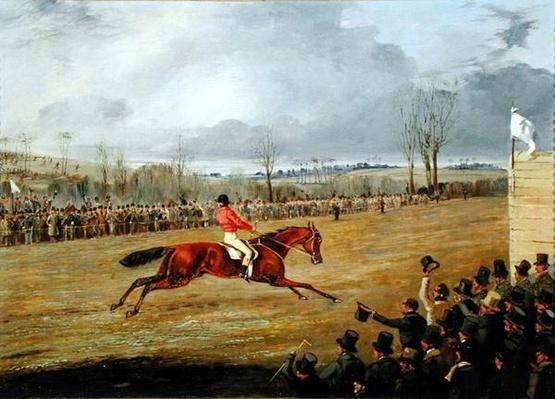 A Steeplechase, The Winner