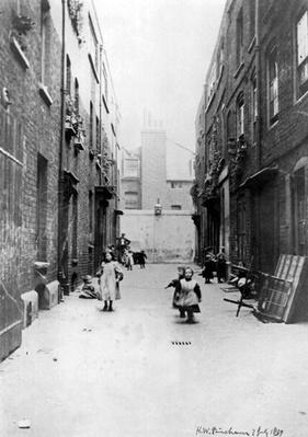 London Slums, 1899