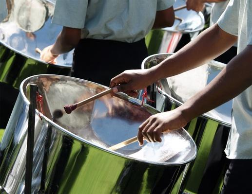 Drummers in a Steel Band | Musical Instruments