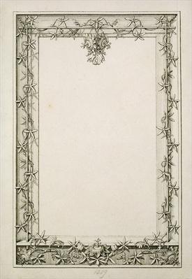 Decorative border, 1809