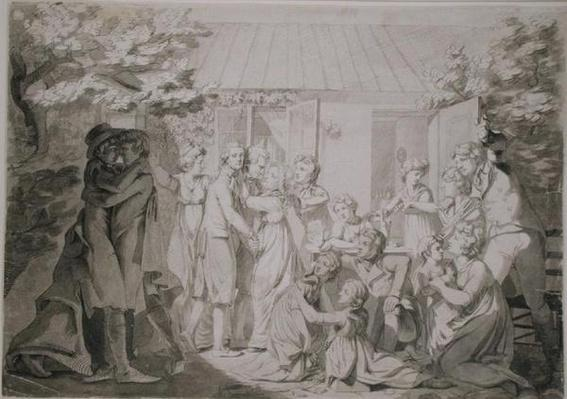 The Homecoming of the Son, 1800/01
