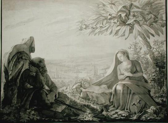 Rest on the Flight into Egypt, 1805
