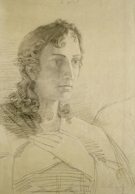 Head and hands of St. John, 1806