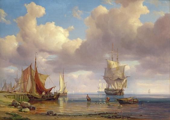 Calm Sea, 1836