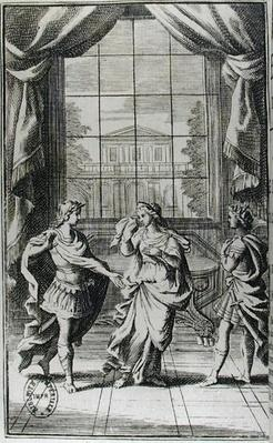 Frontispiece to 'Berenice' by Jean Racine