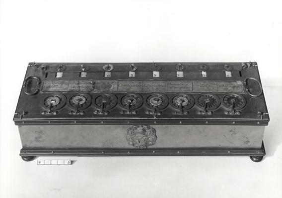 Calculating Machine invented by Blaise Pascal