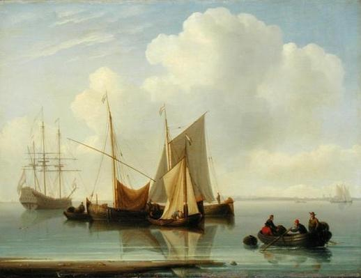 Dutch Sailing Vessels, 1814