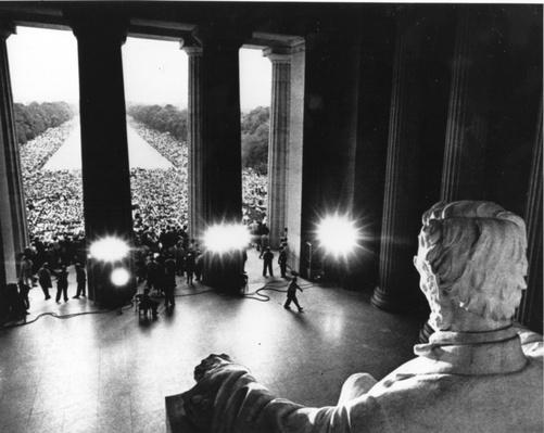 "Martin Luther King's ""I Have A Dream"" Speech, Lincoln Memorial, August 28, 1963 