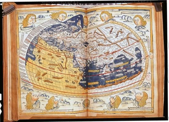 Map of the world, 1486