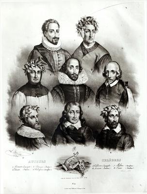 Famous Authors, 1833