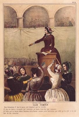 Women's Club, c.1848