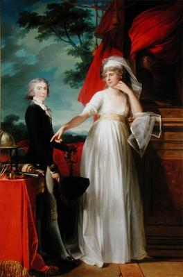 Margaret Callender and her son James Kearney, 1795