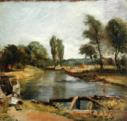 Flatford Lock, 1810-11