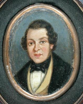 Miniature: Portrait of Abram Constable