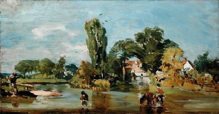 Flatford Mill, c.1810-11