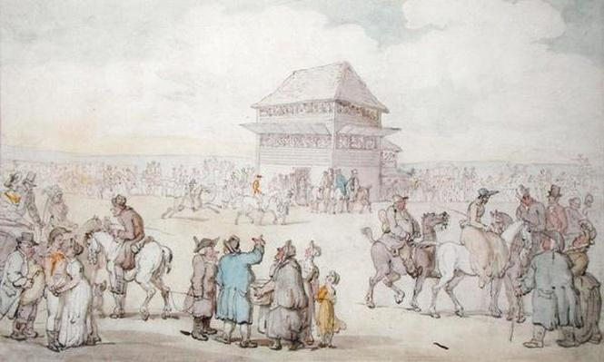 A Crowded Race Meeting, c.1805-10