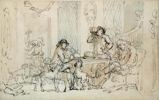 Breakfast before the Hunt, c.1785-90