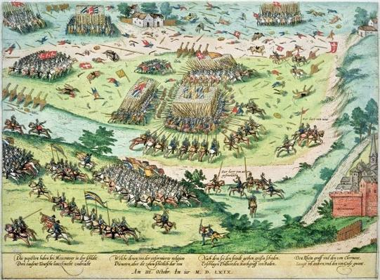 The Battle of Moncontour, 3rd October 1569