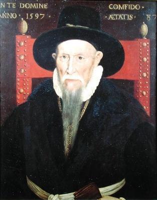 Portrait of Theodore de Beze