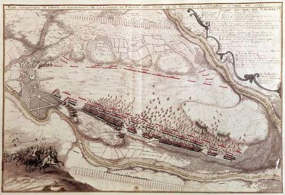 Plan of the Order of the Battle of Coutras on 8th October 1587