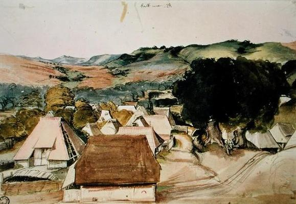View of Kachreuth, near Nuremberg, 1511