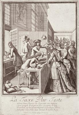 Poll Tax, 1709