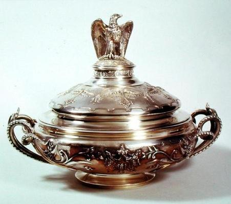 Vegetable Dish, Service Napoleon III, 1855