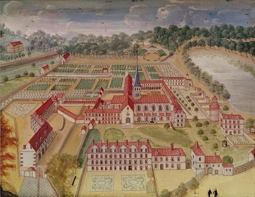 General View of the Abbey from 'l'Abbaye de Port-Royal', c.1710