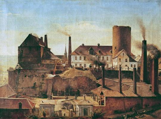 The Harkort Factory at Burg Wetter, c.1834