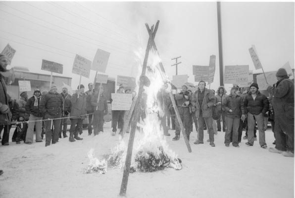 Protesters in Alaska | Ken Burns: The National Parks
