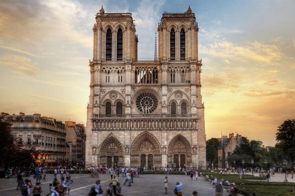 Notre Dame Cathedral, Paris, France | World Religions: Christianity