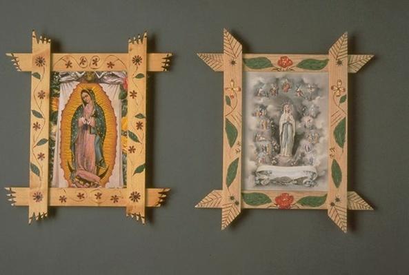 Hispanic Culture in Utah: Robert Martinez's Decorated Picture Frames
