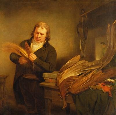 An Ornithologist, probably Mr. Thomson, Animal and Bird Preserver to the Leverian and British Museums, 1802