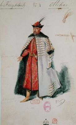 Prince Ottocar from the opera 'Der Freischutz' by Carl Maria von Weber