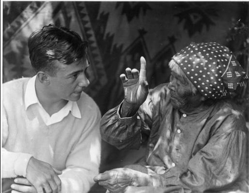 George Melendez Wright with Maria Lebrado (Totuya), Yosemite National Park, 1929   Ken Burns: The Natioanl Parks