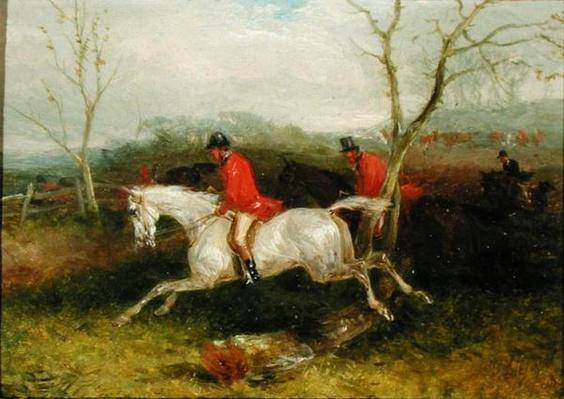 Foxhunting: Coming to a Fence