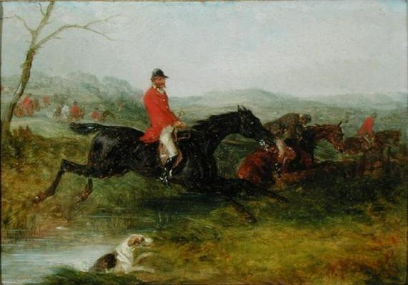 Foxhunting: Clearing a Brook