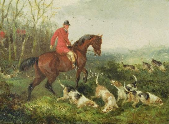Foxhunting: At Cover